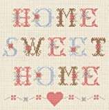 Anchor - Kit de Punto de Cruz, diseño con Texto Home Sweet Home