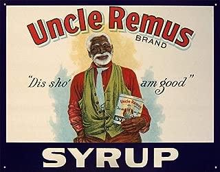 1besteffie& Uncle Remus Syrup Retro Vintage Tin Sign TIN Sign 8 x 12 INCH