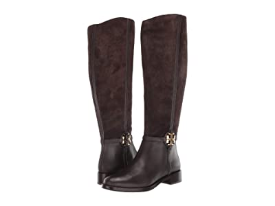 Tory Burch 25 mm Miller Boot Wide Calf (Corvino/Corvino) Women