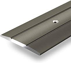 Aluminium overgangsprofiel Firm | C-vorm | voorgeboorde afdekstrip om te schroeven | breedte 36 mm | geanodiseerd champagn...