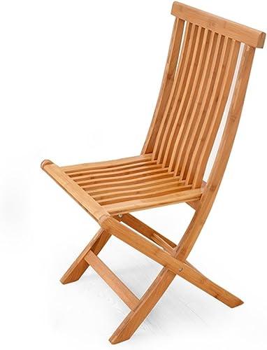 QRFDIAN Bureau à Domicile étude Table et Chaise en Bois Massif à Manger Chaise Convient pour la Famille en Plein air (Taille   B)