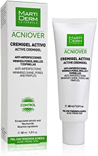 Martiderm ACNIOVER cremigel activo piel grasa y acnÃica 40 ml