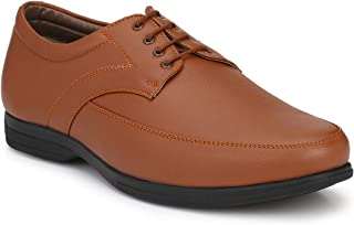 Andrew Scott Men's Tan Synthetic Leather Formal Shoes