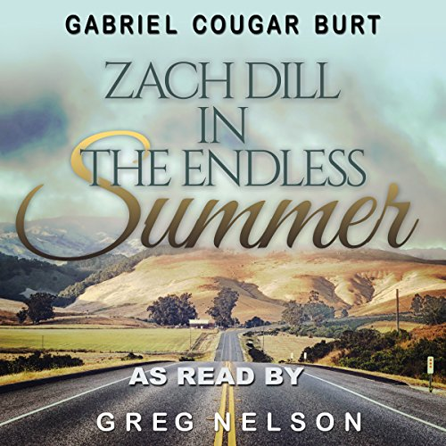 Zach Dill in the Endless Summer audiobook cover art