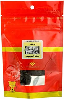 SWISSARABIAN Jannet El Firdaus Aroma Scented Incense Bakhoor Balls (40 Gram Pack)   for use with Charcoal or Electric Burner   Original 1974 Givaudan Formulation   from The House of Swiss Arabian