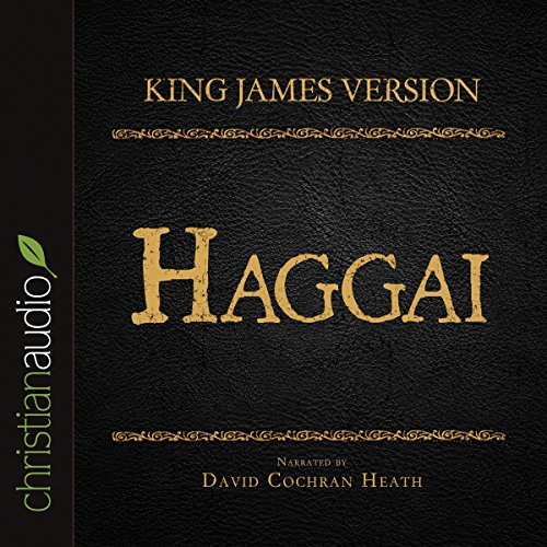 Holy Bible in Audio - King James Version: Haggai audiobook cover art