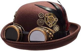 GRACEART Mujer Steampunk Sombrero con Engranajes