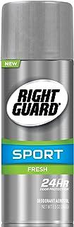 Right Guard Sport Aerosol Deodorant, Fresh, 8.5 Ounces (Pack of 12)