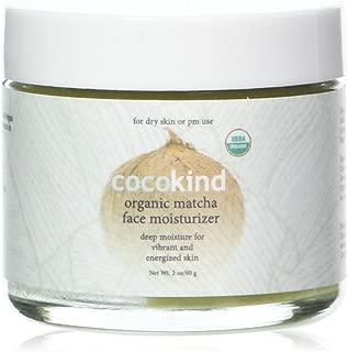 Cocokind Moisturizer Matcha Organic 60 Ml, 2.02 oz