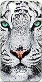 ONOZO Soft TPU Gel Case for Wiko Birdy Tiger Design White