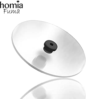 homia Cup Cover Smoking Gun Accessories, Disk lid for Cocktail Smoker - Cold Smoke for Drinks,...