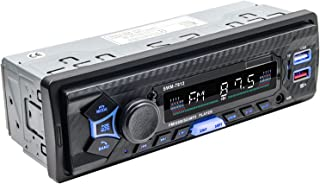Ronyme Receptor de MP3 Player USB Estéreo 12V Bluetooth USB com Remoto único Din