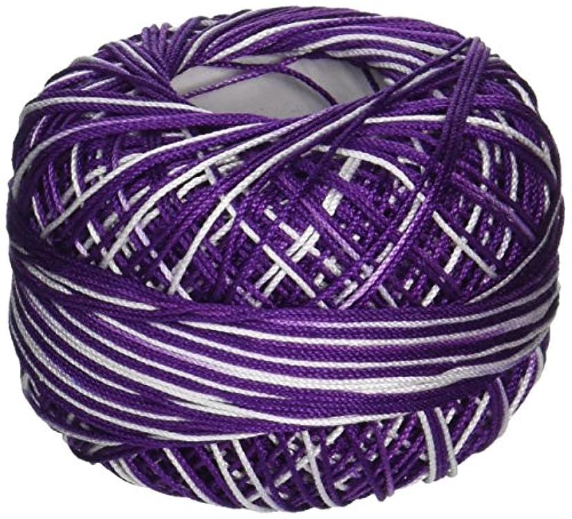 Lizbeth Cordonnet Cotton, Size 10, Purple Twist