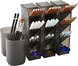5 Pcs Desk Organizer- Pen Organizer Storage for Office, School, Home Supplies,..