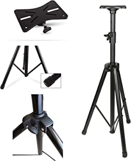 """Wownect Universal Speaker Stand Mount Holder, Projector Tripod Stand [Adjustable Height from 40"""" to 71""""] Multi-Functional ..."""