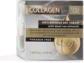 Dead Sea Collection Anti-Wrinkle with Collagen to Moisturize and Smooth you skin 1.69 fl.oz