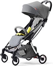 ZL Baby Stroller Ultra Light Can Sit and Fold Portable Pocket Umbrella Cart,A