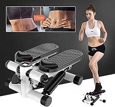 Stepper met LCD-Scherm en Touwen, Fitness Stepper voor Thuis en op Kantoor