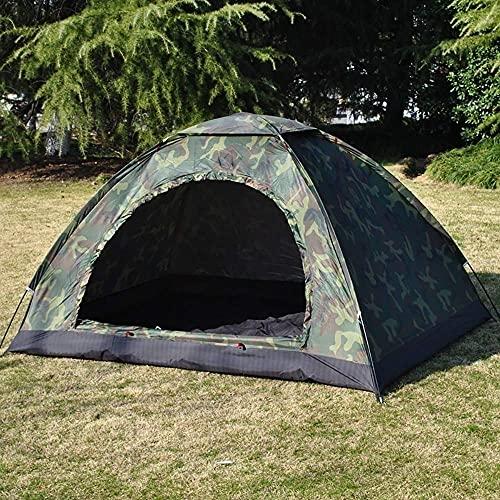 DEDC Campingzelt, wasserdicht, für eine Person, Camouflage, Angeln, Jagd, Zelt, für Camping, Wandern