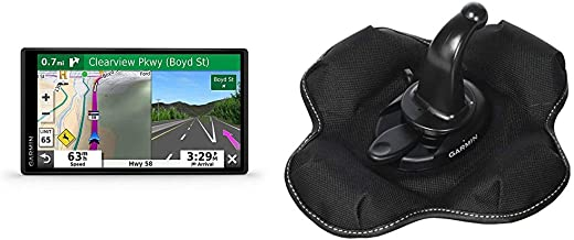 Garmin DriveSmart 55 & Traffic: GPS Navigator with a 5.5ǃ˘ Display, Hands-Free Calling, Included Traffic alerts and Information to enrich Road Trips Bundle with Garmin Portable Friction Mount
