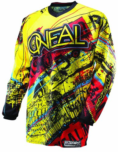 Mx Jersey Oneal Element Acid 2014 Giallo-Rosso (L , Giallo)