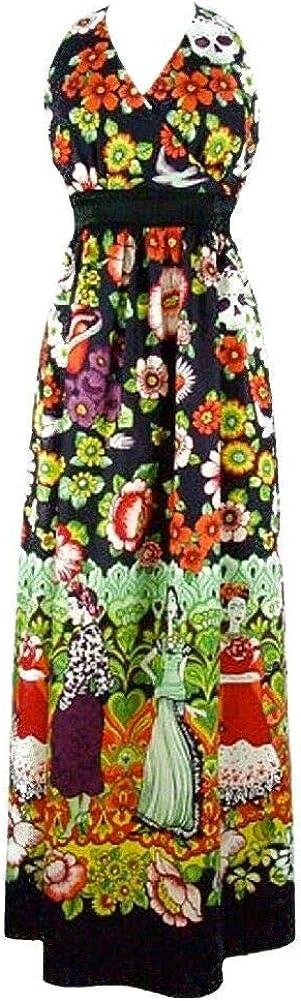 Max 70% OFF Hemet Women's Frida Cheap bargain and Maxi Catrinas Dress