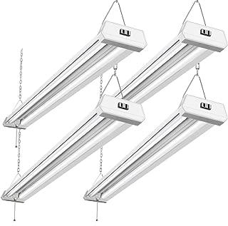 42W Linkable LED Shop Light for Garage BBOUNDER 48 Inch 4FT 5000K LED Garage Light 4 Pack
