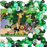 Dschungel Dekorationen Ballon Girlande Kit, Dschungel Stoff