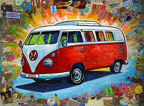 The Bus 500 Piece Jigsaw Puzzle