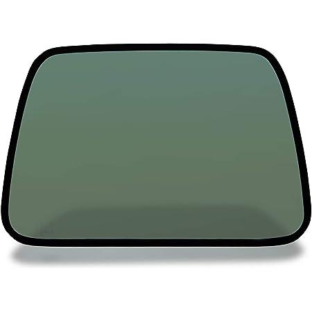 Make Auto Parts Manufacturing - Passenger/Right Side Hard Top Quarter Glass 50% Tint for Jeep Wrangler 87-06 - Hollander - 284-06064BL