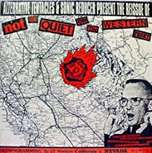 VARIOUS NOT SO QUIET ON THE WESTERN FRONT vinyl record