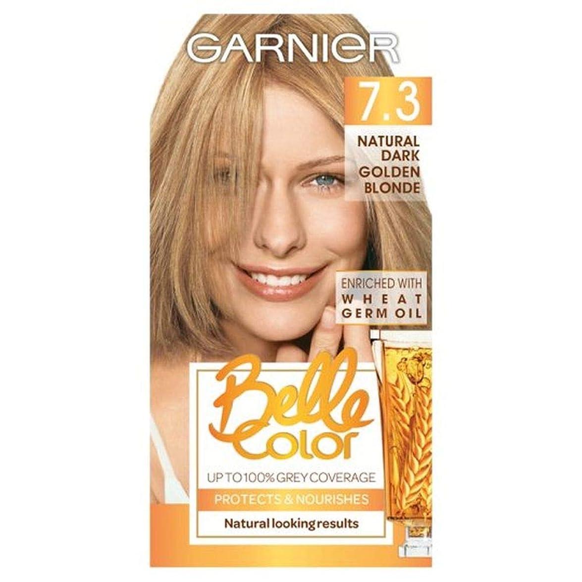 グリップにぎやか彼女[Belle Color] ガルニエベルカラー7.3暗い金色のブロンド - Garnier Belle Color 7.3 Dark Golden Blonde [並行輸入品]