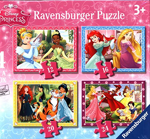 Disney Princess 4 Puzzles
