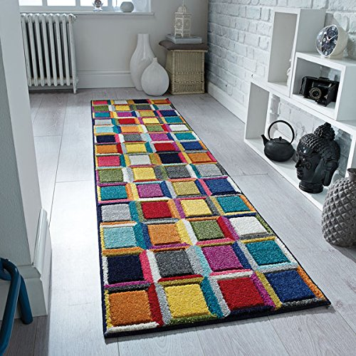 Flair Rugs Spectrum Waltz Runner Multi, 60 x 230 cm
