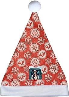 PatrickCSmithd Retro Christmas Santa Claus Hat Lana Del Rey Lust for Life Funny Party Hats Santa Hats Red