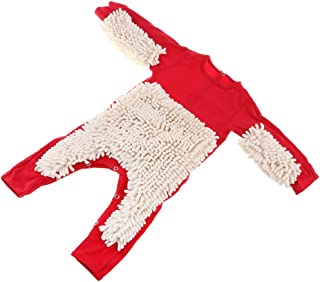 F Fityle Neugeborene Baby Overall Wischmopp Strampler Mädchen Jungen Spielanzug aus Baumwolle Babybekleidung