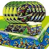 Teenage Mutant Ninja Turtles Complete Party Supplies Kit For 16
