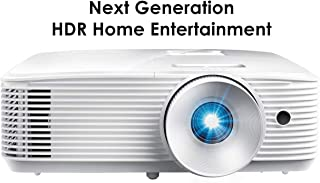 Optoma HD28HDR 1080p Home Theater Projector for Gaming and Movies | Support for 4K Input | HDR Compatible | 120Hz refresh rate | Enhanced Gaming Mode, 8.4ms Response Time | High-Bright 4000 lumens