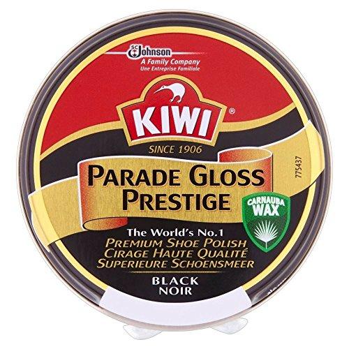 KIWI Kiwi Parade Gloss Prestige Schuhcreme schwarz (50 ml) - Packung mit 6