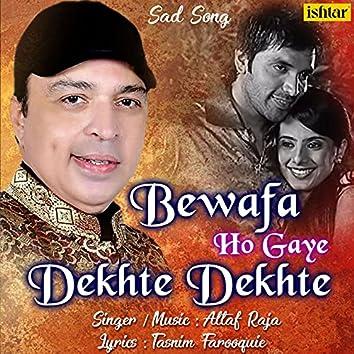 Bewafa Ho Gaye Dekhte Dekhte