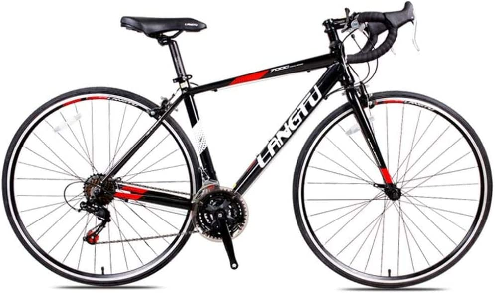 GJZM Price reduction Road Bike New Shipping Free Shipping 21 Speed Adult W V 700C Bicycle Brake Double