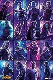 Avengers Infinity War Poster Heroes