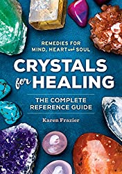 crystals for healing book cover