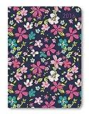 Ladytimer Ringbuch Roses 2021 - Taschen-Kalender A5 (15x21 cm) - Schüler-Kalender - Weekly - Ringbindung - 128 Seiten - Alpha Edition