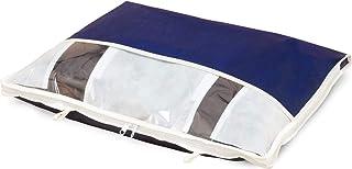 アストロ 衣装ケース ネイビー 不織布 ダウンジャケット収納 コンパクト 177-19