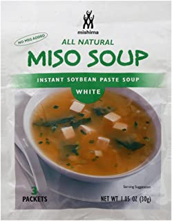 Mishima, Soup Mix White Miso, 1.05 Ounce