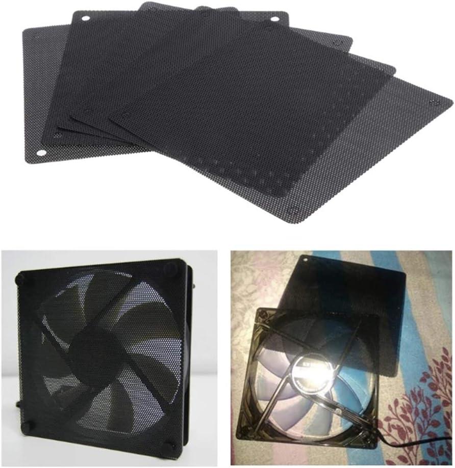 vctas Popular popular 120mm Computer Cheap super special price Fan Filter PVC Mesh Case Black Dustproof PC