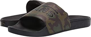 Vans Unisex Slide-On (Camo) Black/Green 14.5 Women / 13 Men M US