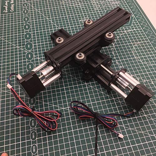 XBaofu 1set Aluminio V-Slot Acme CNC-xy Tabla Actuador Kit