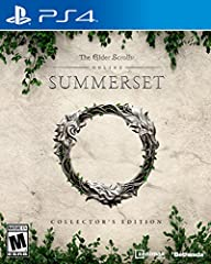 JOURNEY TO SUMMERSET - Explore a stunning new zone: the home of the High Elves. Traverse lush, vibrant forests, tropical lagoons, ancient coral caves, and more. CONTINUE YOUR ADVENTURE - Rejoin old friends, forge new alliances, and unravel a dark con...